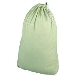 Gran Hotel Canvas Drawstring para trabajo pesado de la bolsa de ropa de algodón verde oliva