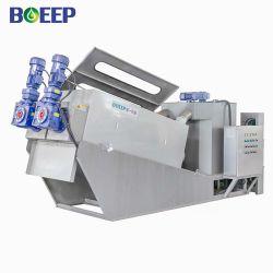 CE/ISO/SGS 산수 폐기물 정수처리 공장 슬러지 탈수처리 건조 장비