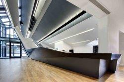 تصميم معمارى مبتكر أثاث منصة أثاث لوحات حائط خارجية أكريليك صلب السطح