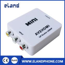 Mini AV para conversor HDMI RCA para Caixa de saída HDMI