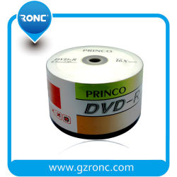 Хорошая упаковка дешевые 4,7 гб 120 мин Princo DVD-R 16X