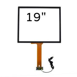 لوحة شاشة سعوية تعمل باللمس مقاومة للماء مقاس 19 بوصة للأجهزة الصناعية