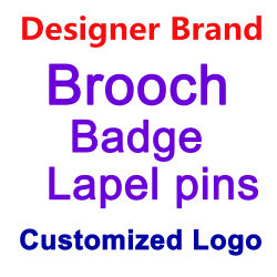 ماسات من حجر الراين Alloy Crystal brooch Lapel pin / Fashion بروش