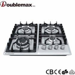 Cucina a gas Fornello a 4 bruciatori di stile europeo Fornello a gas Fornello a gas