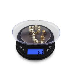 0.001精密金のダイヤモンドのデジタル小型デジタル小型の宝石類のスケール