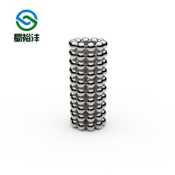 Magnete in ferro borone al neodimio in ferrite sferica N52 per motori di personalizzazione