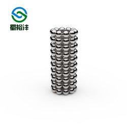 El tamaño del motor de personalización de N52 de ferrita de hierro de neodimio de esférico balón imán magnético boro