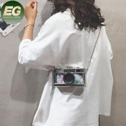 Sh1609 Designer Feminina Sacos quadrados PU Crossbody Couro Bolsas em forma de câmara instantâneo da embreagem de bolsas de ombro