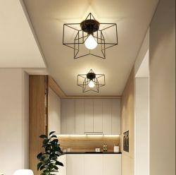 Industriële Cage Retro plafondlampen armaturen voor hal slaapkamer binnen Verlichting (WH-LA-19)