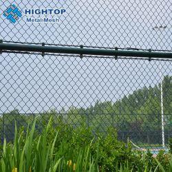 フットボール競技場のチェーン・リンクの塀または鉄条網のためのダイヤモンドの機密保護の網