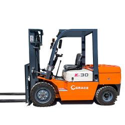 2.5 トン 3 トンディーゼルフォークリフト油圧リフターリフト新型小型トラック ディーゼルフォークリフト