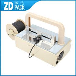 Zd-08 Zdのパックの小型半自動デスクトップの銀行券テープ紐で縛る機械価格