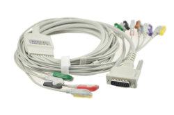 Schiller EKGケーブル10の導線のバナナ4.0mm