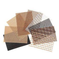 Resistente a ácidos y álcalis calor preservación Grid cinta adhesiva de tela de fibra de vidrio enyesado de pared de la construcción de muro exterior