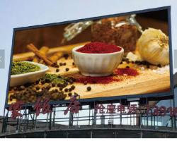 P10 en el exterior de la pantalla de TV de pantalla de LED RGB LED Pantalla de visualización de publicidad