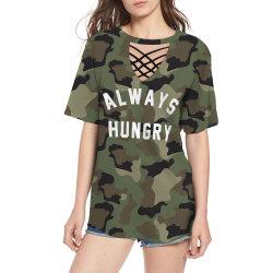 Sommer 2020 fertigen Form-Kurzschluss-Hülsen-T-Shirts der Frau kundenspezifisch an