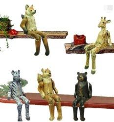 크리스마스 장식용 목재공예품용 시트터 목재집 장식