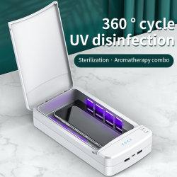 지적인 소독 상자 UV 강한 살균 이동 전화 살균제는 보석 키를 위해 살균제 상자를 다중 사용한다
