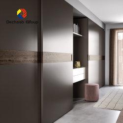 중국 공장 가격 슬라이딩 직물 벽장 옷장 문 침실