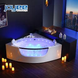 Дешевые угловой ванной Китая Jakuzi 2 Лицо горячими ваннами с Sexy массажные струи