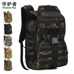 40L Camping durables Acu Camouflage Cyclisme Trekking Randonnée imperméables de plein air Voyage Molle portable sac à dos d'assaut de style militaire tactique de l'épaule Sac à dos Sac