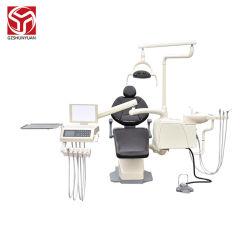 وحدة الأسنان المدمجة المكسوة بالجلد الأسود عالي الجودة شون يوان سعر الترويج للمنصب