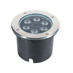 Высокое качество круглой выемкой 6 Вт Светодиодные лампы в саду под землей лампа