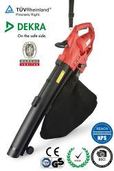Portables haute puissance électrique à vitesse variable de feuilles de jardin surpresseur avec sac de collecte
