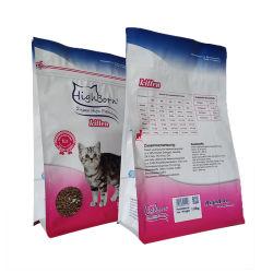 Sacchetto di plastica della guarnizione del quadrato per la farina di frumento che imballa i sacchetti laterali per alimento per animali domestici