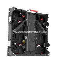 معدل التحديث الداخلي العالي 3840 هرتز، الوزن الخفيف المسطح والمنحني لوحة شاشة LED للخدمة الأمامية للمغناطيس مقاس 500 مم*1000 مم بحجم حاوية P2.604/P2.976/P3.91/P4.81