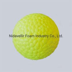 كرة بسيطة للحيوانات الأليفة لعضّ البروتوكات مصنوعة من E-TPU سلسلة Velet الخضراء
