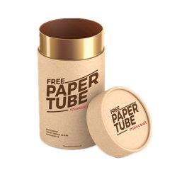 Het ronde Vakje van de Gift van de Cilinder van het Karton van het Document van het Vakje van de Buis van de Opslag Verpakkende