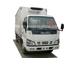 5 Ton van refrigerada Isuzu Truck Freezer Camião Van Truck Reefer Van Veículo caixa do resfriador Veículo Frigorífico Máquina Veículo refrigerado com unidade refrigerada da operadora