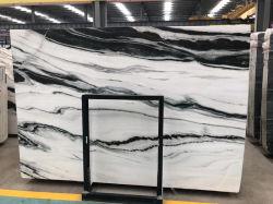 Pedra natural Branco/Preto/Amarelo/bege/Vermelho/Verde/azul/marrom/rosa/Cinza/ouro polido/Aperfeiçoou Panda lajes de mármore branco de interior/ exterior/piso/parede exterior