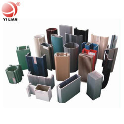 Matériaux de construction en aluminium Profil d'extrusion de métal/Vitre coulissante de porte et Casement/Awing/fenêtre en verre fabriqués en Chine