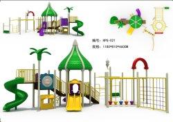 屋外用の大型プレイグラウンド(お子様用)北京ファンマックスからのプラスチック製スライド