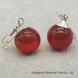 Electroplate и Электрофорез мода украшения красный опал Drop Earring для женщин