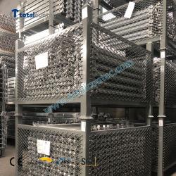 Ausgezeichnete Qualität Gerüst quadratische Rohr Palette mit Drahtgitter Stahl Gerüstlagerpalette