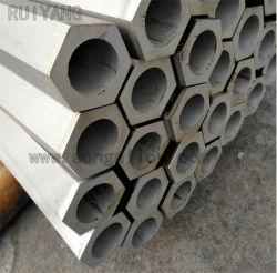 Barra vuota inossidabile Hex Hex del tubo d'acciaio