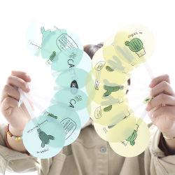 Diseño de fábrica el plástico Abanicos
