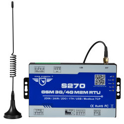Registrador de datos GSM GPRS - S240 RS485, 32 de BT, Chip de brazo