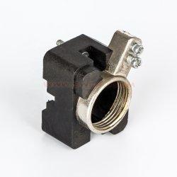 Personnalisée en usine de cuivre métallique en aluminium collé de gel de silice en silicone de caoutchouc Produits de pièces