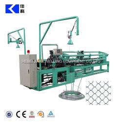Doble vínculo de la cadena de alambre galvanizado de malla de esgrima precio de fábrica de la máquina