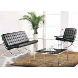 Modernes Hauptwohnzimmer-Büro-Möbel-Barcelona-Büro-Leder-Sofa