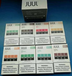 Хорошие оптовые цены на кофе с различными вкусами для Juul