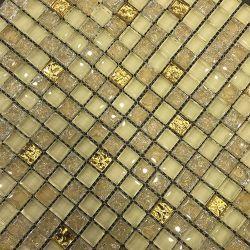 佛山工場の安価な建材クリスタルガラスモザイクタイル