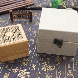Houder van de Stok van de Wierook van de Ambacht van het Bamboe Hardcover van de Verkoop van de fabriek nam de Directe In het groot Met de hand gemaakte Met de hand gemaakte de Houten Brander van de Wierook op