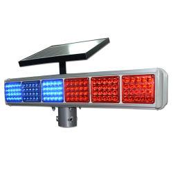 La Chine le trafic de fournisseur d'avertissement clignotant Strobe solaire sens de la flèche témoin LED de trafic