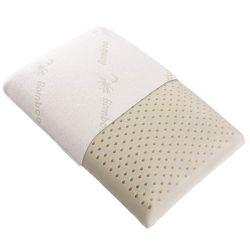 Le latex naturel oreiller avec couvercle de bambou lavable