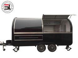 Черный Two-Wheeled прицепов, для использования вне помещений торговых центров, игровые площадки, рестораны автомобили